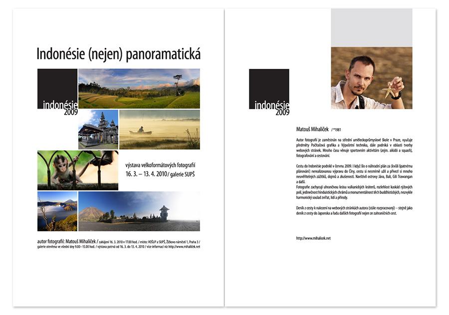 Indonésie (nejen) panoramatická: pozvánka na výstavu
