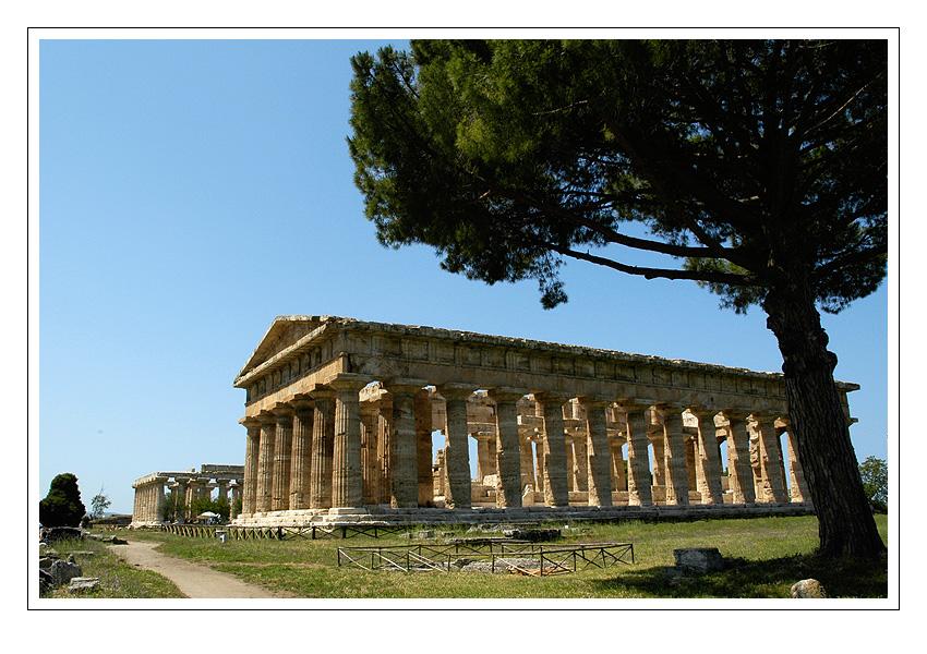 Paestum - chrámový komplex