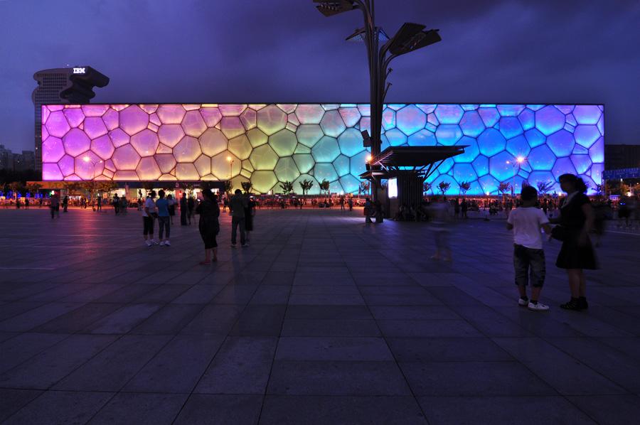Vodní kostka, Peking / Water Cube, Beijing
