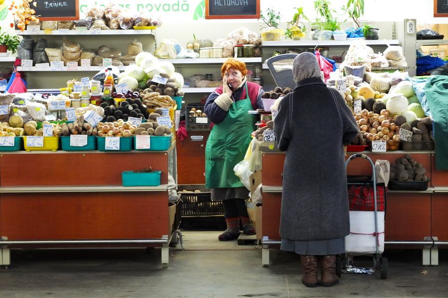 Rižská tržnice. // Riga, Lotyšsko