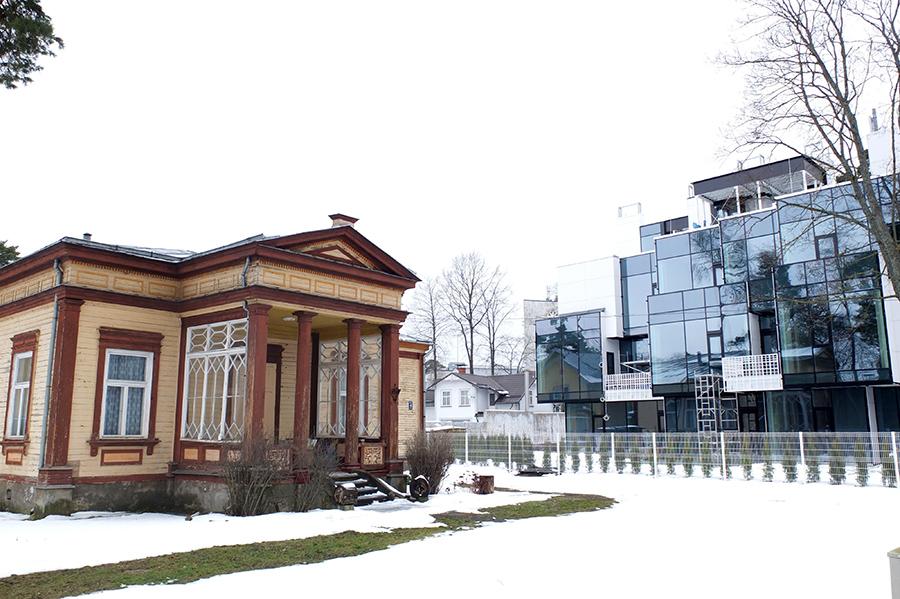 Jürmala: místo svébytných architektonických stylů.