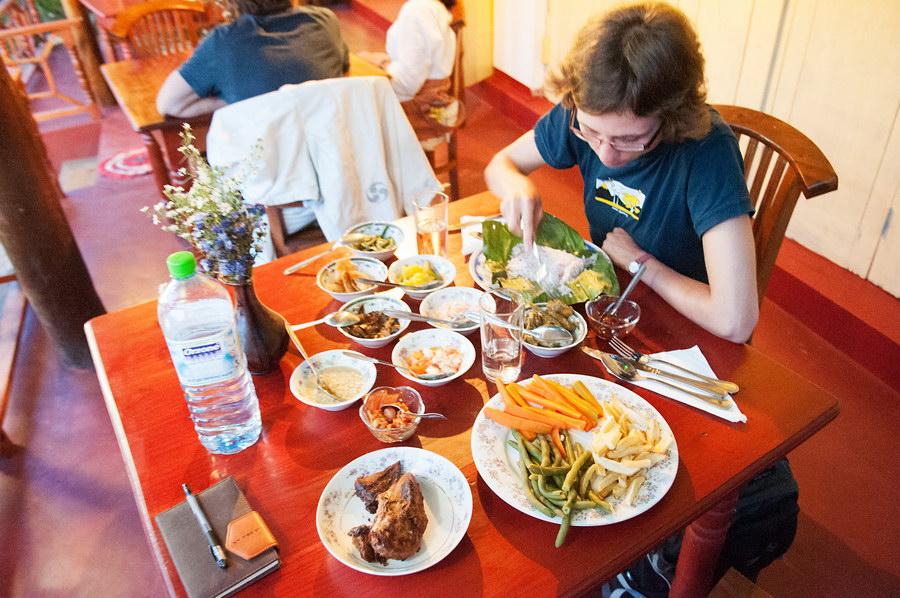 Jedno z našich oblíbených jídel, ovšem takovýto luxus byl spíše výjimkou :/