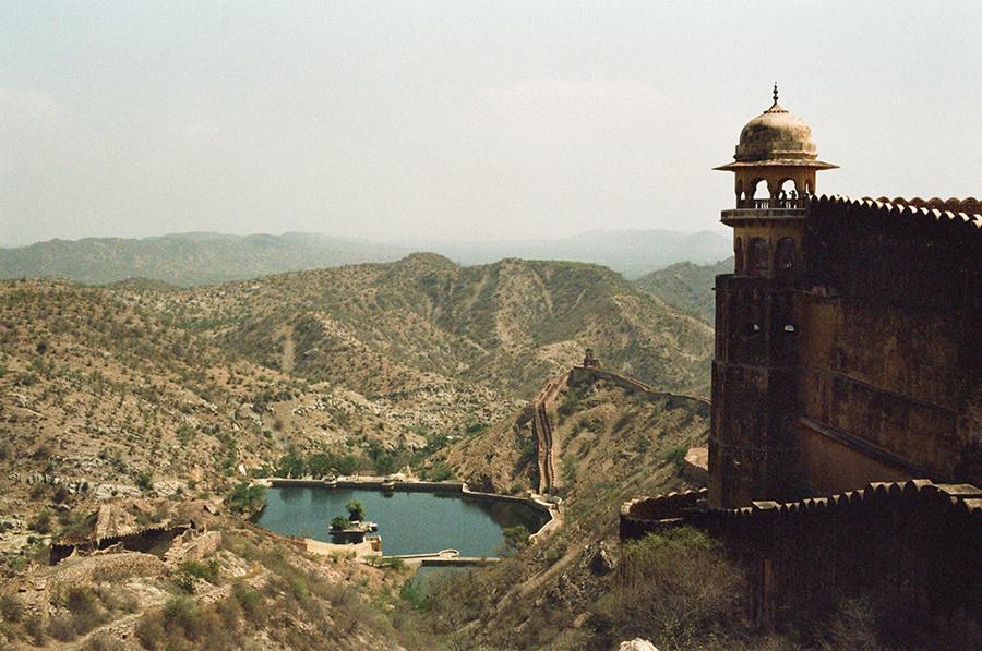 Indie, Jaipur - Jaigarh Fort