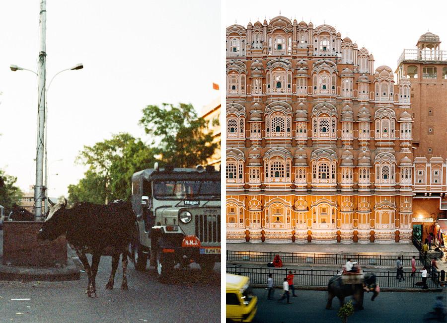 Jaipur, Indie - Hawa Mahal