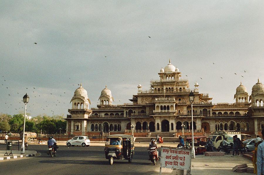 Jaipur, Indie - Albert Hall Museum