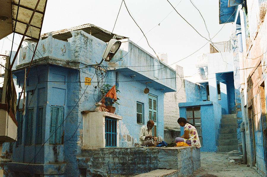 Modré domy, Jodhpur, Indie