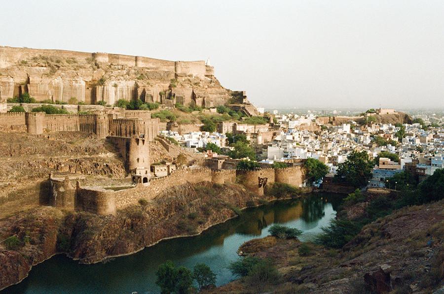 Pevnost Mehrangarh - Jodhpur, Indie