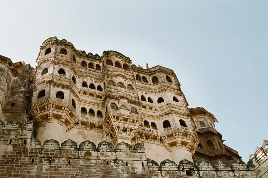 Mehrangarh Fort - Jodhpur, Indie
