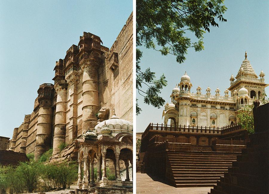 Mehrangarh Fort & Jaswant Thada - Jodhpur, Indie