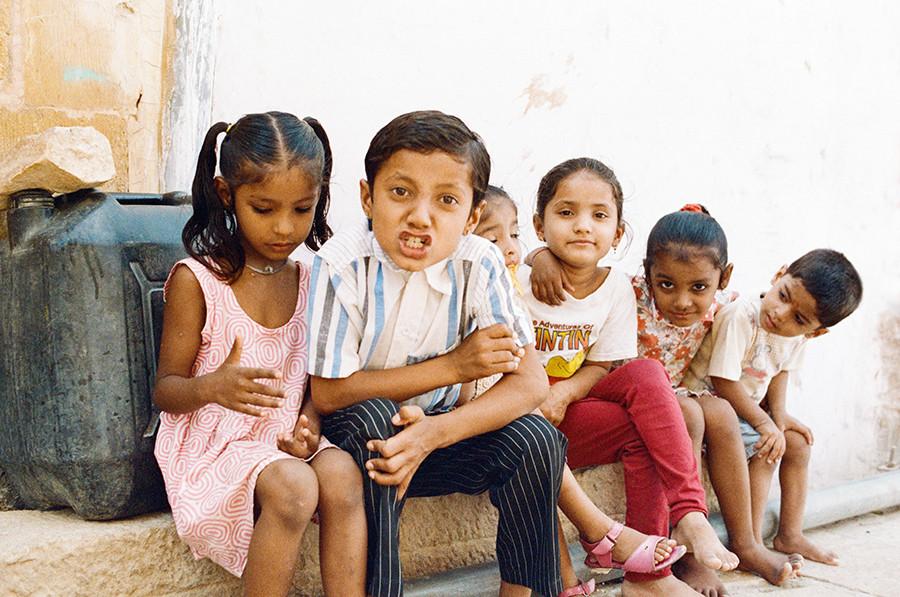 indické děti - Jaisalmer, Indie