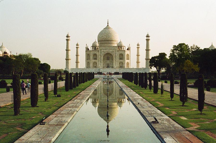 Taj Mahal - Agra, Uttarpradéš, Indie