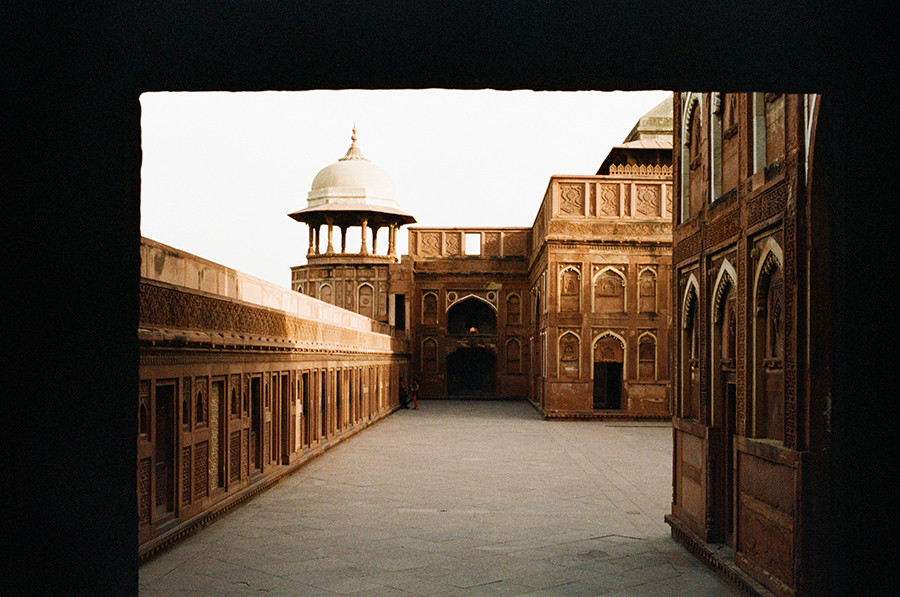 Agra Fort - Agra, Uttarpradéš, Indie