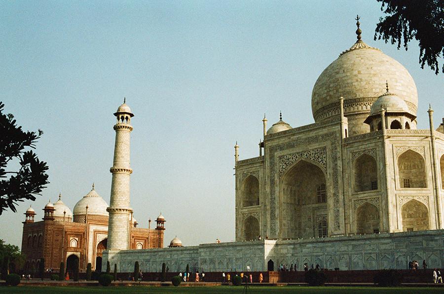 Taj Mahal — Agra, Uttarpradéš, Indie