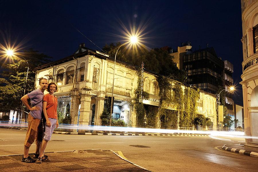 Koloniální architektura, Ipoh, Malajsie
