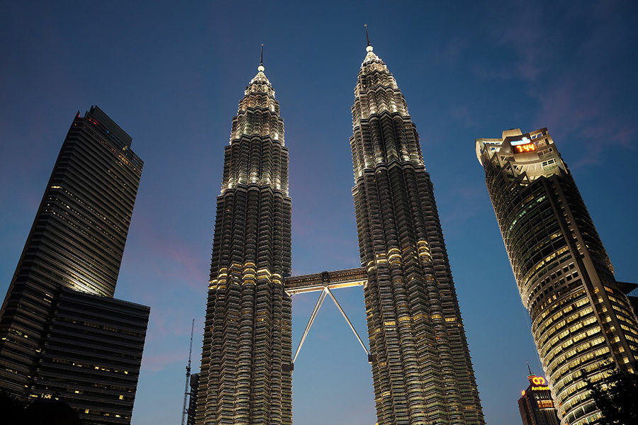 Petronas Twin Towers, Malajsie