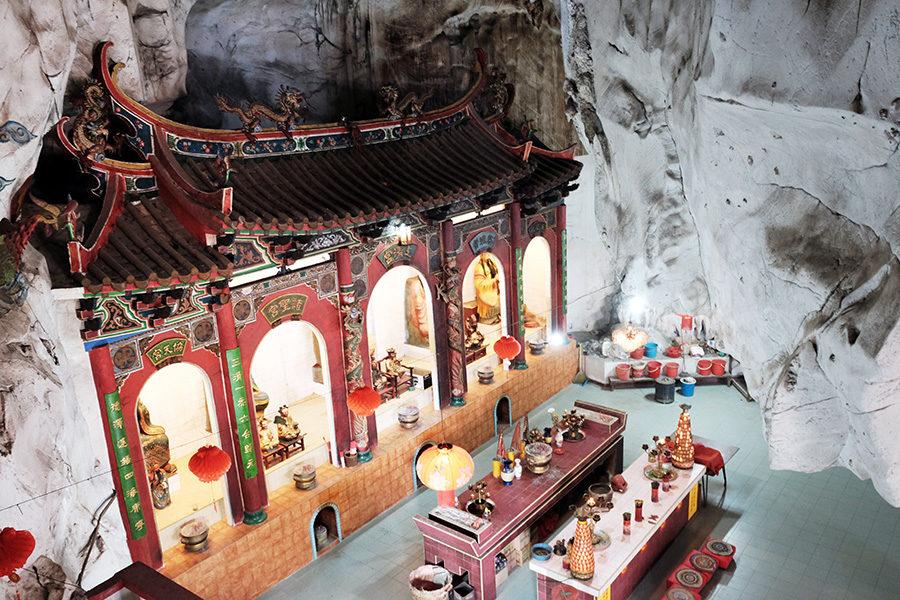 Skalní chrám, Ipoh, Malajsie