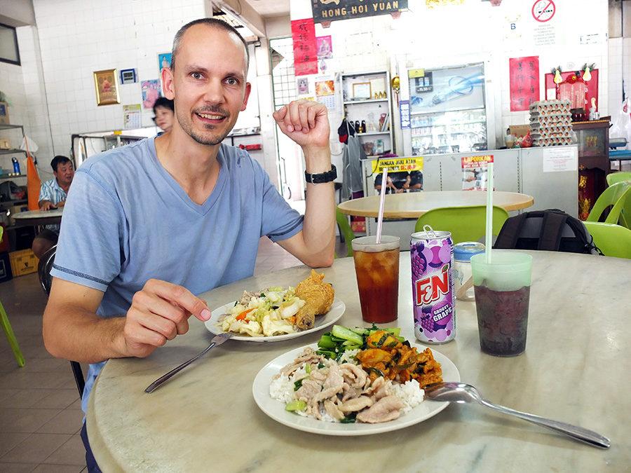 Skvělé jídlo, Ipoh, Malajsie