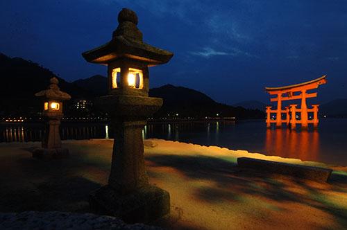 Japonsko - Myijažima