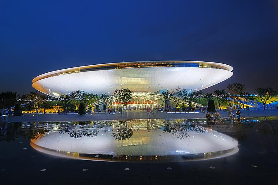 Kulturní centrum, které po skončení EXPO převezme pod svá křídla společnost Mercedes.