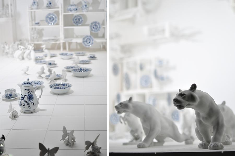 Tak takhle bych si expozici typického českého porcelánu nepředstavoval, ale co já o tom vím :)