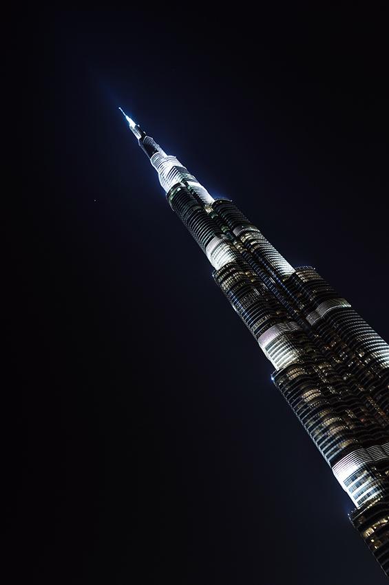 Burj Dubai, impozantní to baráček.