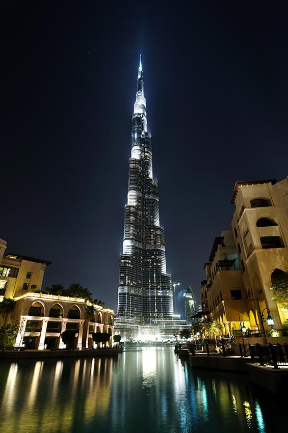 Zábavní komplex u Burj Dubai: nákupní centrum, kino, sjezdovka a tak...