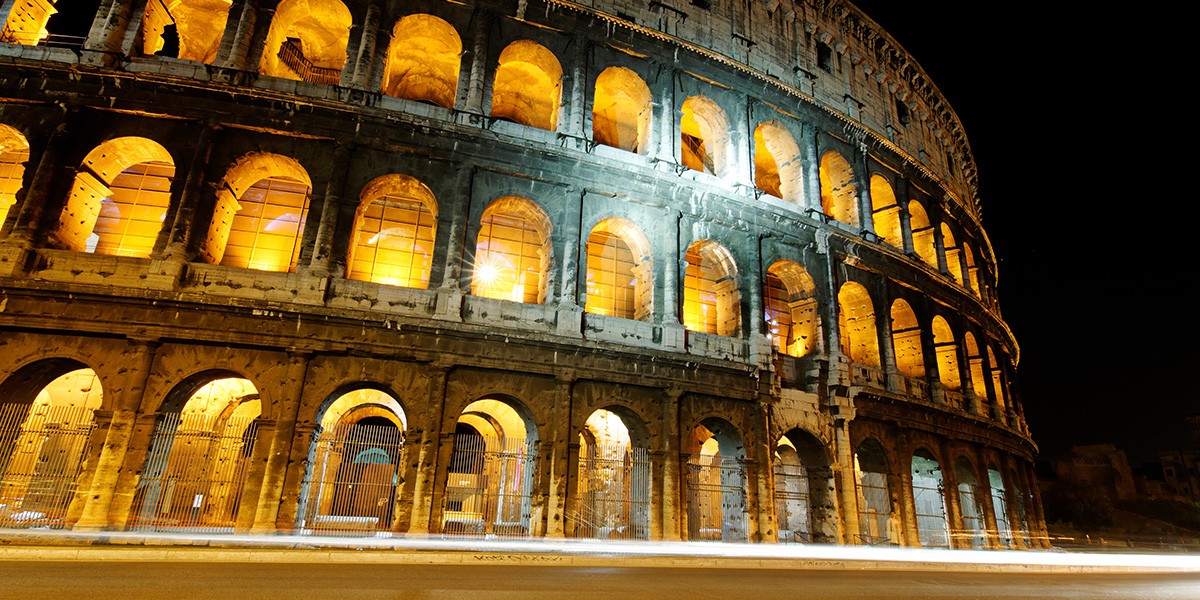 Procházka nočním Římem