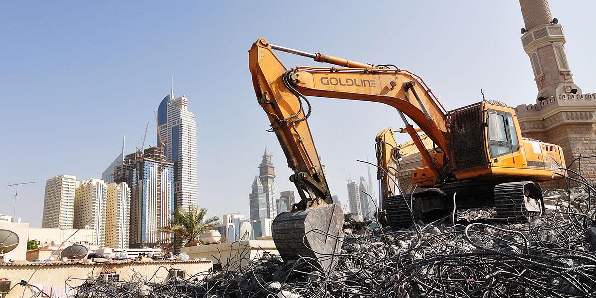 Dubaj krásná iošklivá