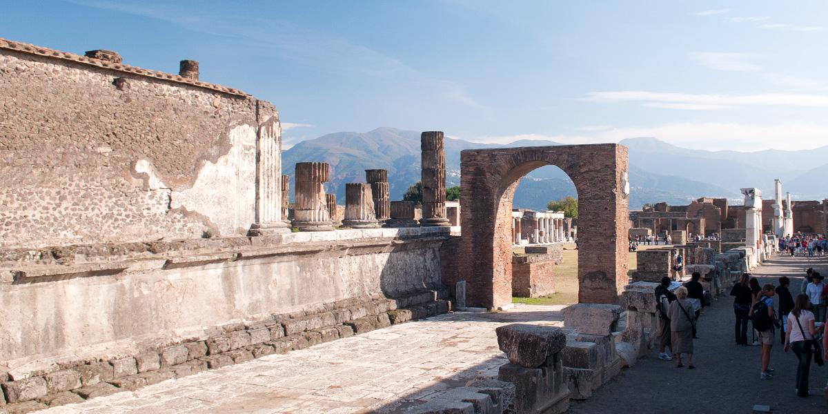 Vzpomínka na Pompeje