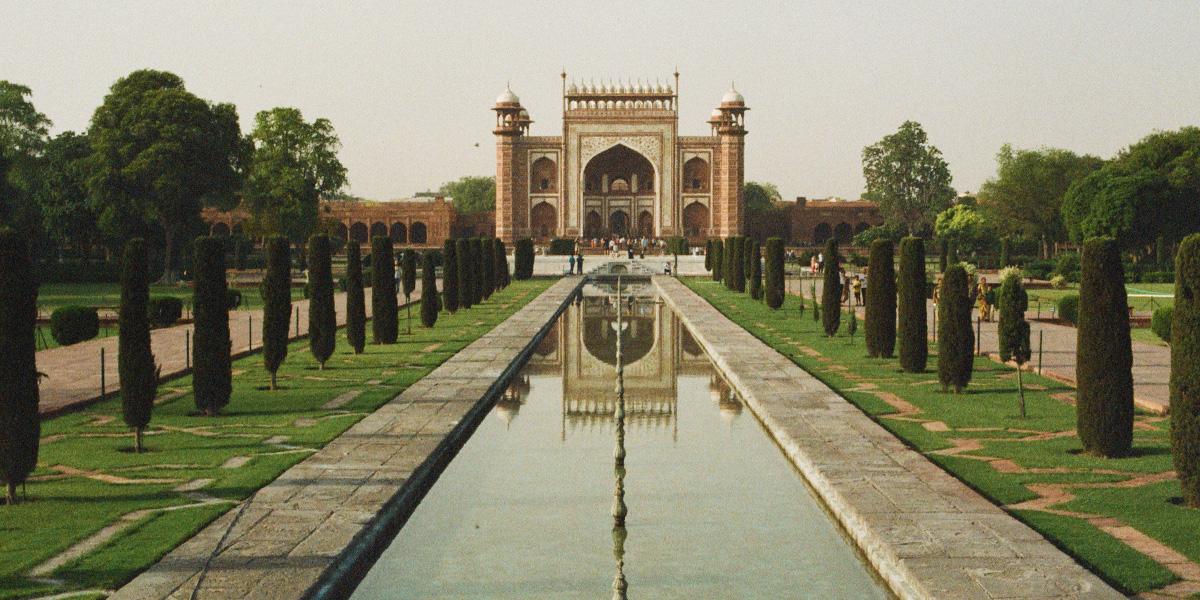 Taj Mahal, bílá kráska
