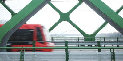 Tramvaj na Starém mostě, Bratislava