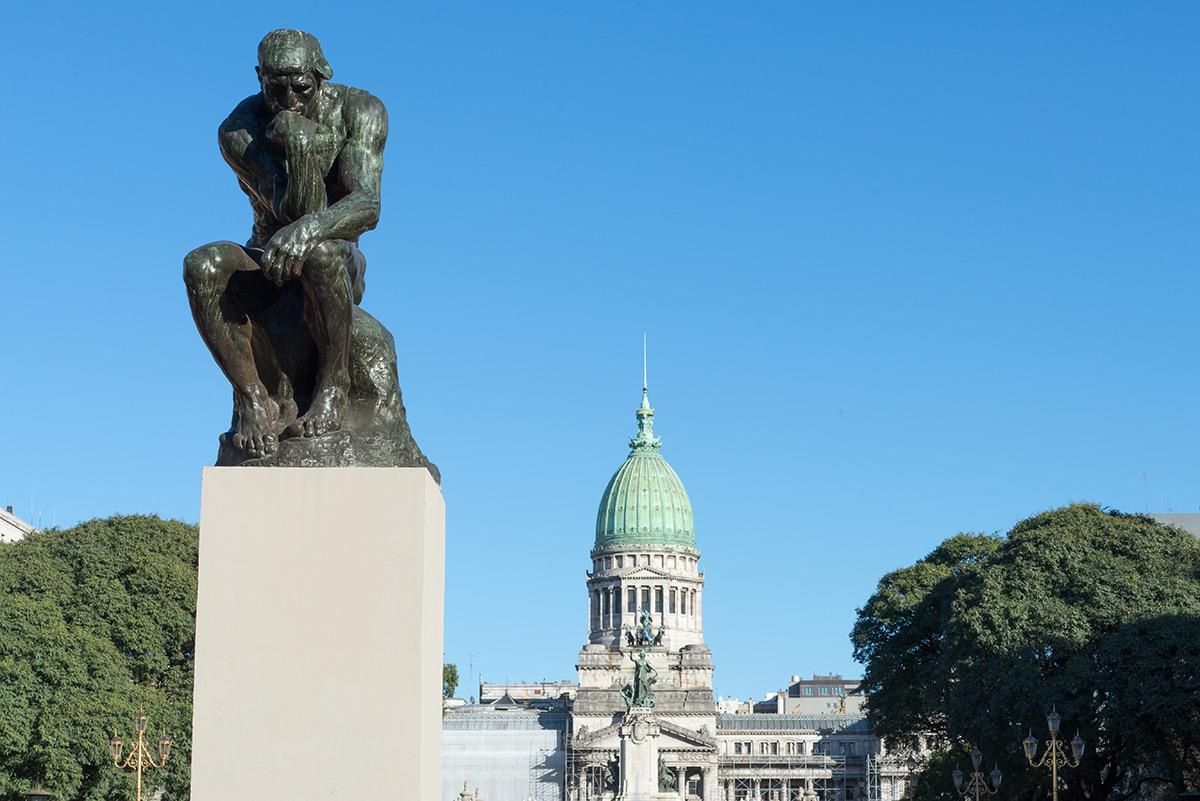 myslitel a radnice, Buenos Aires, Argentina