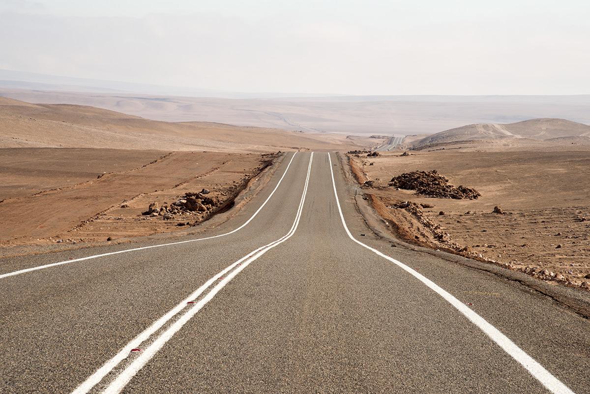 nekonečné cesty Chile