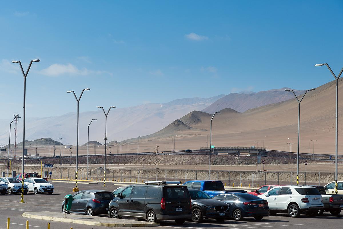 první dojem z Chile, pustina a duny