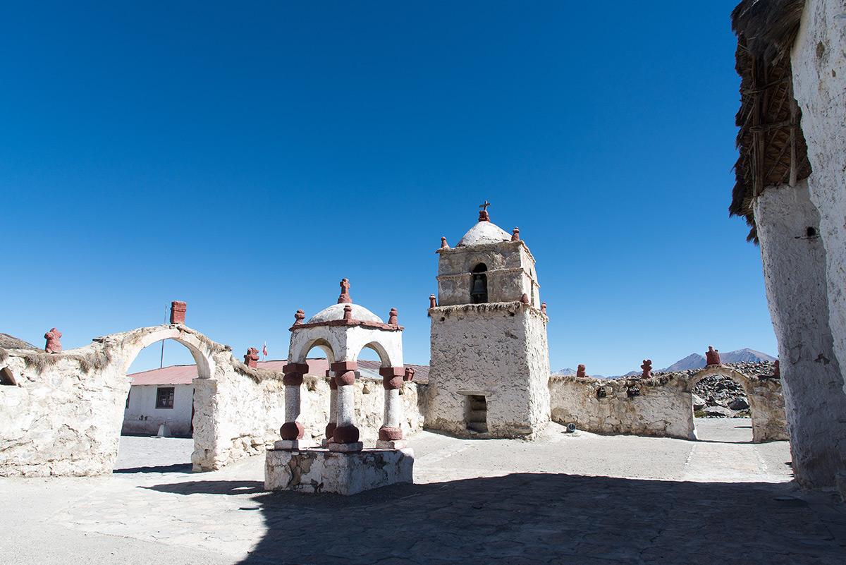 městečko Parinacota