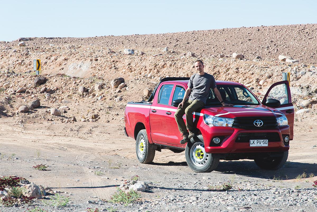 Toyota Hilux, ideální parťák na místní cesty