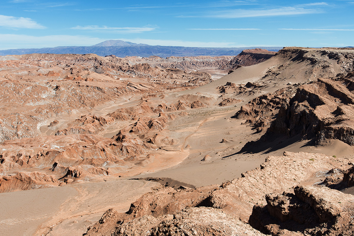 valle de luna, chile