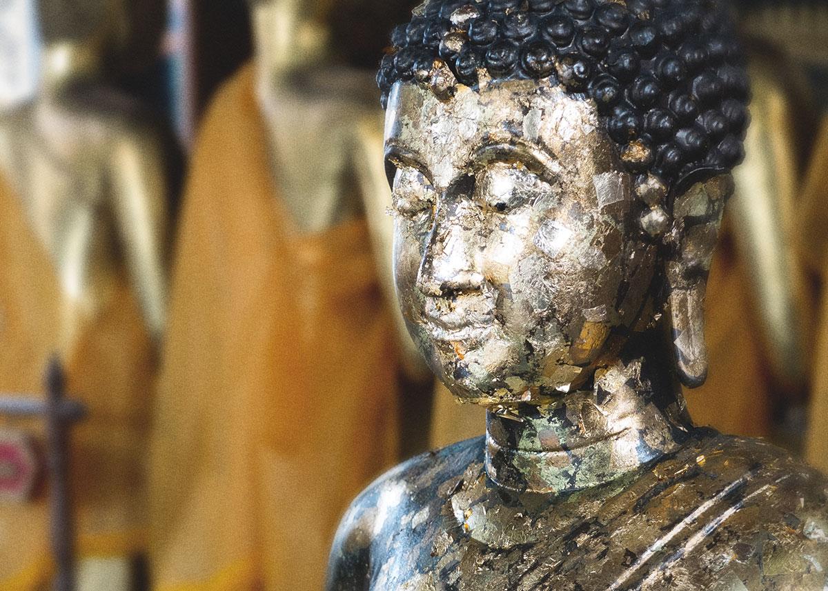 buddha, chrám, Thajsko