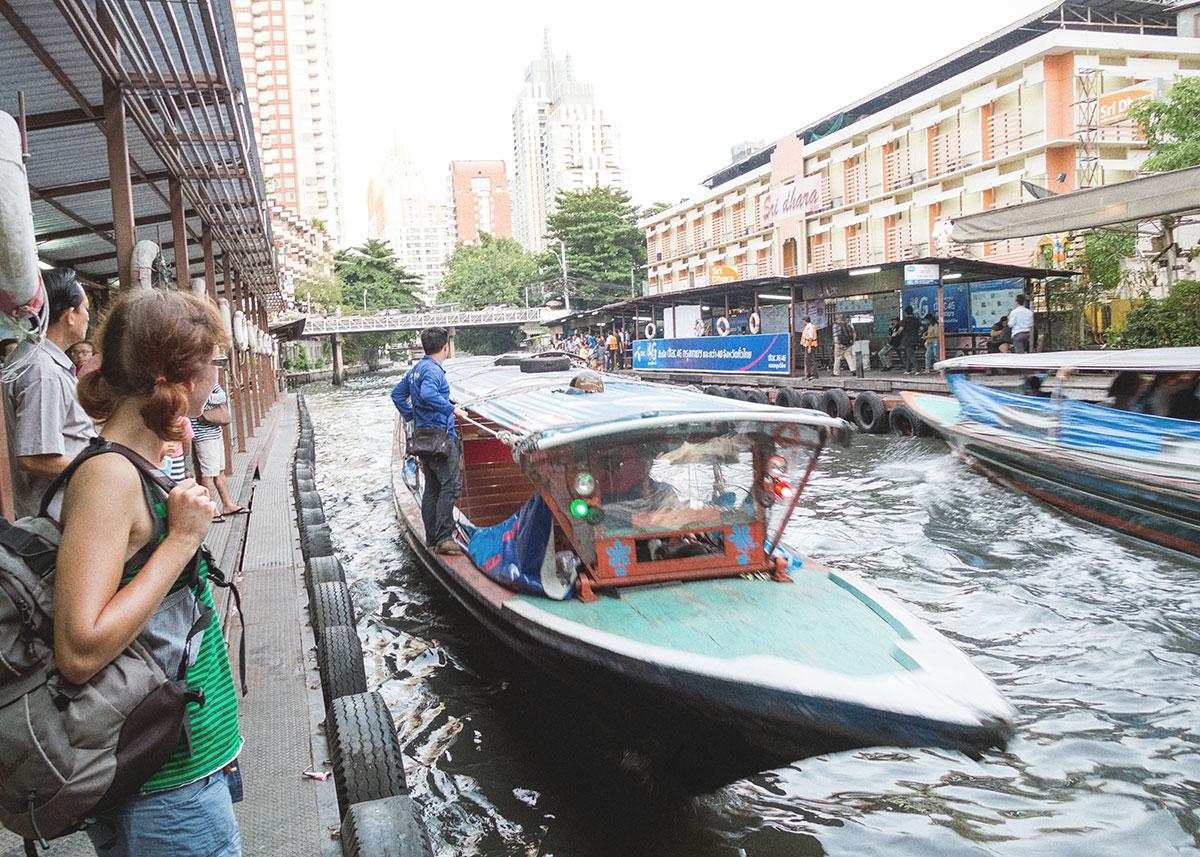 rychlé lodě na kanálech, Bangkok