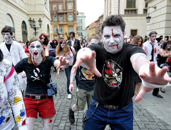 Zombiewalk 2008 Praha